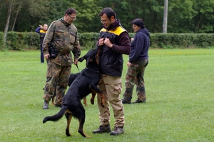 Obedience training at Summer Training Camp in 2010